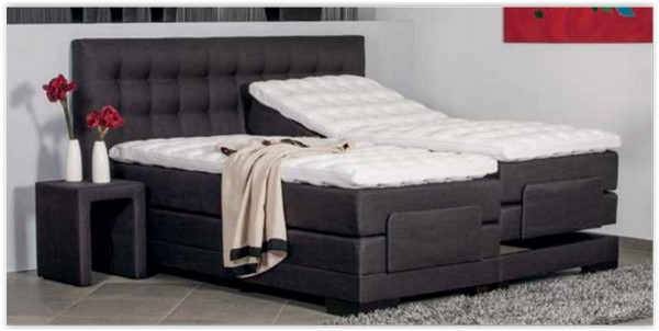 test boxspringbett die. Black Bedroom Furniture Sets. Home Design Ideas